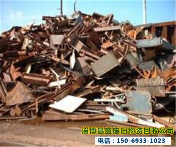 淄博回收废铁图片